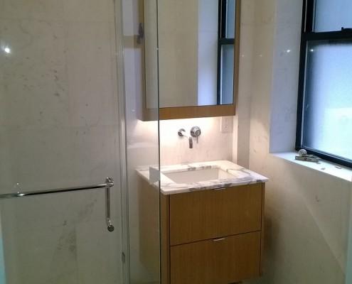 woodwork custom bathroom vanity